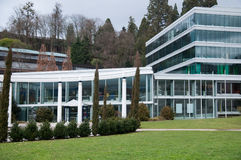 Complexo moderno dos termas em Baden-Baden Imagens de Stock Royalty Free