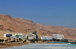 Complexo mundialmente famoso do recurso de saúde no Mar Morto foto de stock royalty free