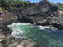 complexo Natureza-feito do bloco da rocha Imagens de Stock