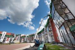 Complexo residencial do país Imagem de Stock