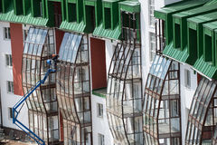 Complexo residencial do país Foto de Stock