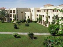 Complexo residencial dos condomínios no sul Imagens de Stock Royalty Free