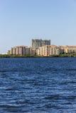 Complexo residencial luxuoso Fotos de Stock