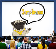 Compliance Affirmation Continuity Regulation Concept Stock Photography