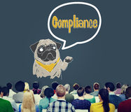 Compliance Affirmation Continuity Regulation Concept Stock Images