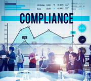 Compliance Agreement Consent Conformity Concept Royalty Free Stock Photography