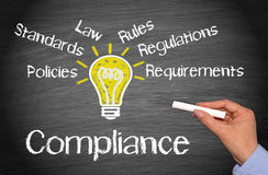 Compliance Business Concept Royalty Free Stock Images
