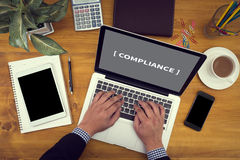 Compliance Concept Stock Photography