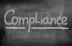 Compliance Concept Royalty Free Stock Photo