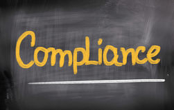 Compliance Concept stock image