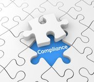 Compliance. Conceptual business image. Sign and symbol Stock Photography
