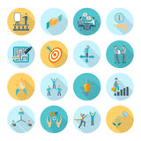 Compliance Icons Flat Royalty Free Stock Photography