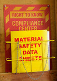 Compliance Material Data stock image