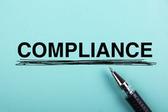 Compliance Royalty Free Stock Photos
