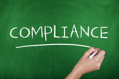 Compliance Word Concept Background Stock Photos