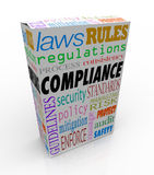 Compliance Word Product Service Package Complying Laws Guideline