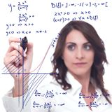 Complicated mathematical function Stock Images