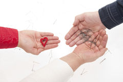 Complicated relationships. Stock Photography