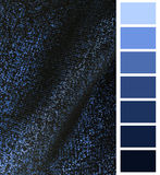 complimentary color palette chart Royalty Free Stock Image