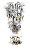 Complot urbain Image libre de droits