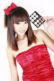 Compo da rapariga Foto de Stock