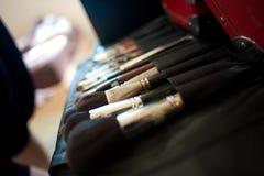 Compo escovas Imagem de Stock Royalty Free