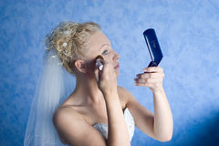Compo a manhã da noiva Imagens de Stock