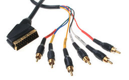 Component Cable Royalty Free Stock Images