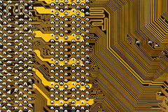 Component circuit board Stock Photos