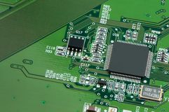 Component of main board Stock Images