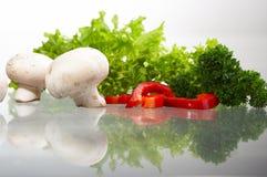 Component salad Stock Photo