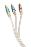 Component video cable Royalty Free Stock Photography