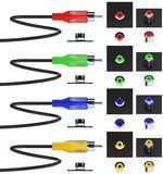 Component video cable Royalty Free Stock Images