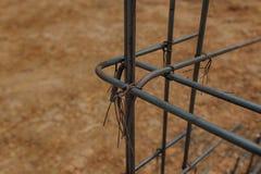 Componente de aço do rebar Imagem de Stock