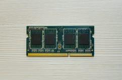 Componente de ordenadores del microprocesador Primer foto de archivo