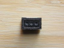 Componente do orador do smartphone imagens de stock