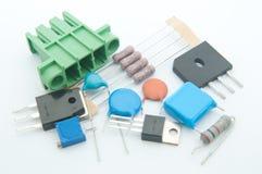 Componente electrónico Fotografía de archivo libre de regalías