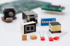 Componente elettronica Immagine Stock Libera da Diritti