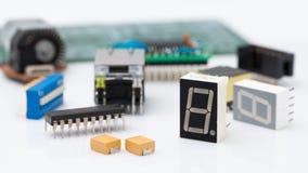 Componente elettronica Immagini Stock