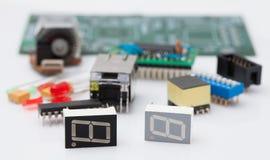 Componente elettronica Immagini Stock Libere da Diritti