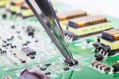 Componente elettronico immagine stock libera da diritti