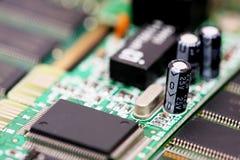 Componente elettronico fotografia stock