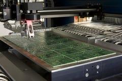 Componente elettronico di produzione Immagine Stock Libera da Diritti