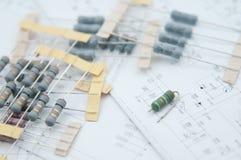 Componente pre froming del resistor Fotos de archivo libres de regalías