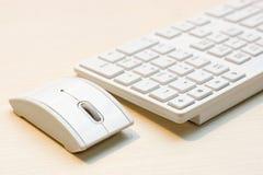 Componenten van een personal computer: muis, toetsenbord Stock Fotografie
