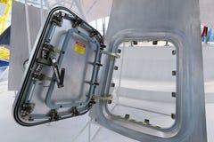Componenten van ruimtevaartuig Stock Foto