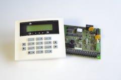 Componenten van veiligheidssysteem Stock Foto