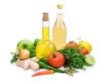 Componentes úteis para cozinhar. Foto de Stock Royalty Free