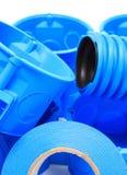 Componentes bondes para o uso nas instalações elétricas Imagem de Stock