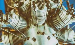 Componentes da eletrônica para o motor dos zangões imagem de stock